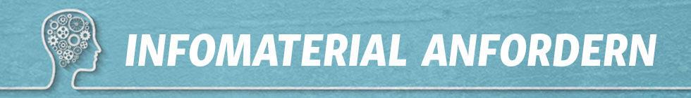 Infomaterial anfordern Banner - Psychologischer Berater