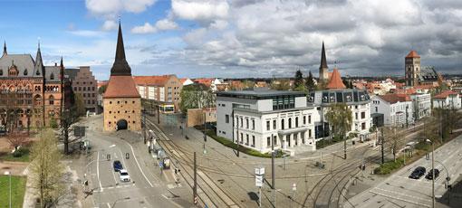 Stadtzentrum von Rostock